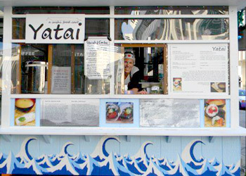 Yatai, the food cart in downtown Denver (USA) has sponsored 6 book parties